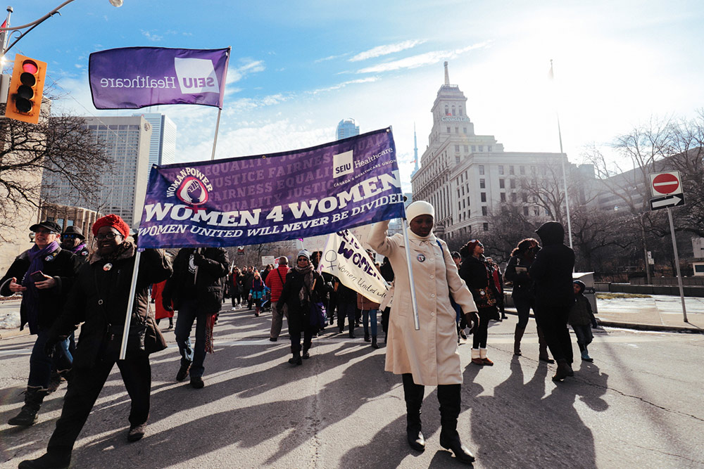 SEIU Healthcare Women's Day March