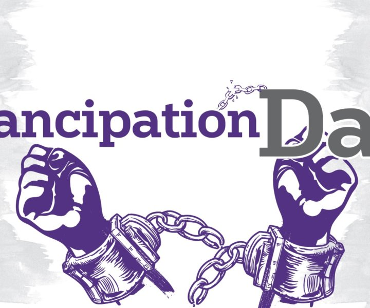 Emancipation Day commemorates August 1, 1834, the date that slavery was officially abolished throughout the British Empire following the Slavery Abolition Act of 1833.