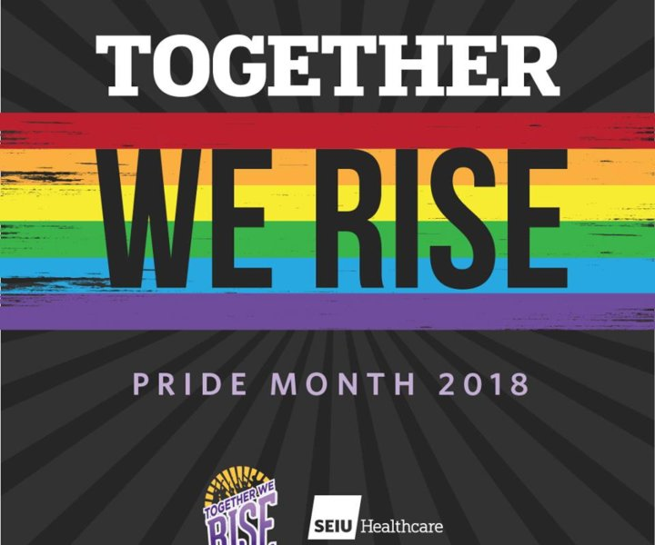 June is Pride Month and SEIU Healthcare is happy to participate in this important celebratory month. SEIU Healthcare has always worked to improve the rights of its lesbian, gay, bisexual, transsexual, transgendered, queer, questioning, two-spirited, and intersexual (LGBTQ2SI) members.